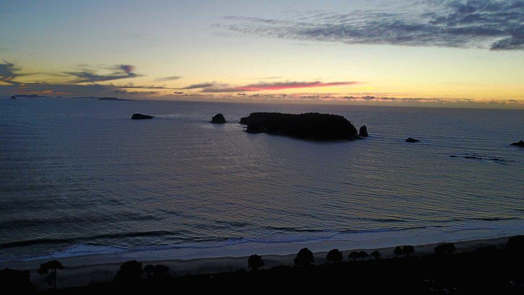 Hahei Beach Ocean Island