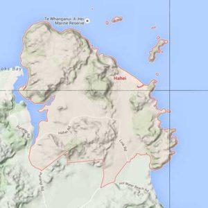 Hahei Beach Map