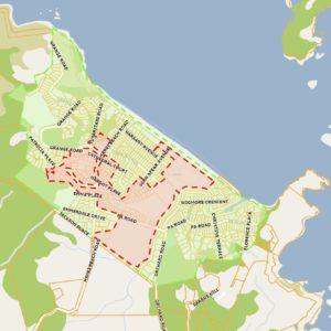 Hahei Beach Sewage And Stormwater Map