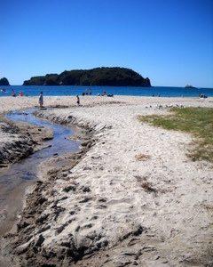 Hahei Beach Coromandel Tutaritari Stream