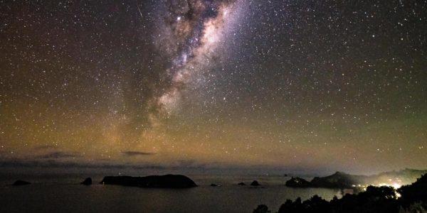 Hahei Beach Coromandel Night Sky