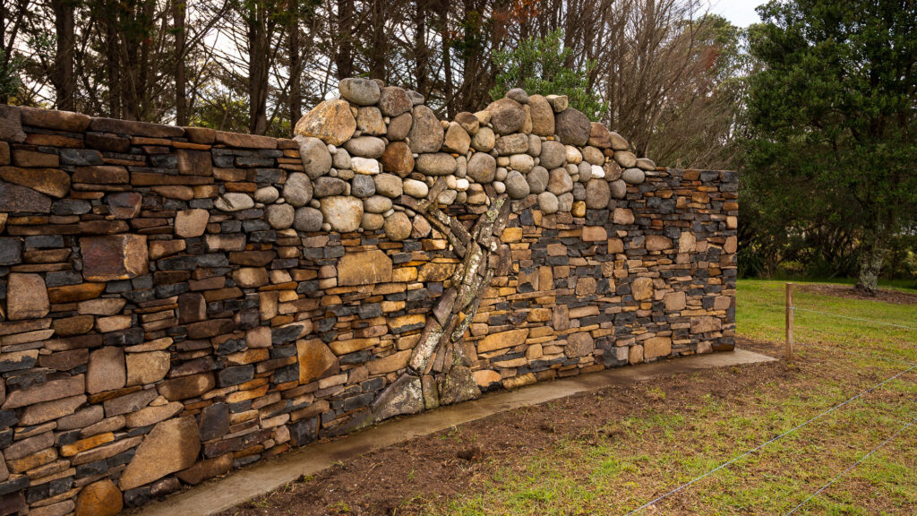 Hahei Beach Coromandel Memorial Garden Wall